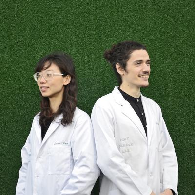Dian-Jen Lin and Hannes Hulstaert - Post Carbon Lab